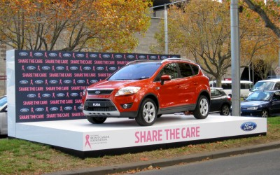 Ford Share the Care Outdoor Display