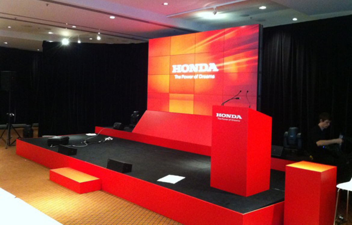 Honda LED Wall and Stage