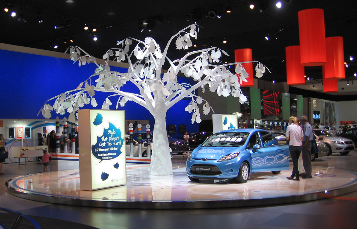 Ford Echo Tree Melbourne Motor Show
