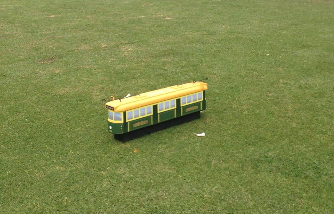 Melbourne Tram Tee Marker for Masters Golf