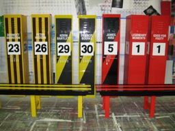 Hand Sign Written Footy Lockers