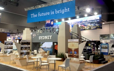 Sydney Display Award Winning Stand AIME 2014